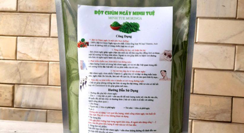 Giá bột chùm ngây ở Hà Nội